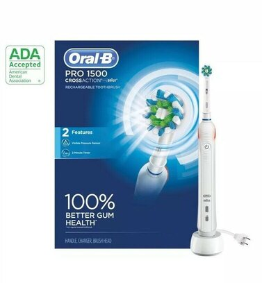 Oral B Pro 1500 Cross Action review